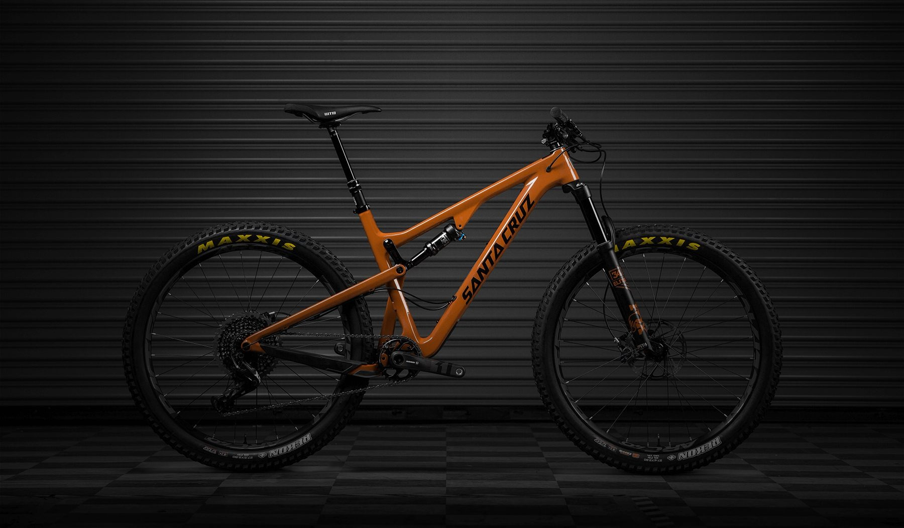 2018 Santa Cruz Tallboy Trail bike