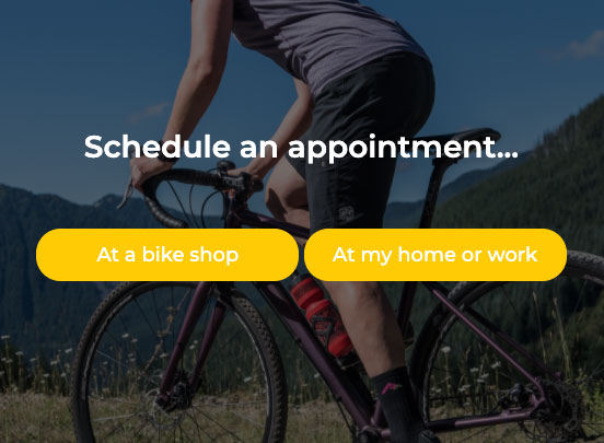 Schedule bike service right at your home with Summit Bicycles mobile service
