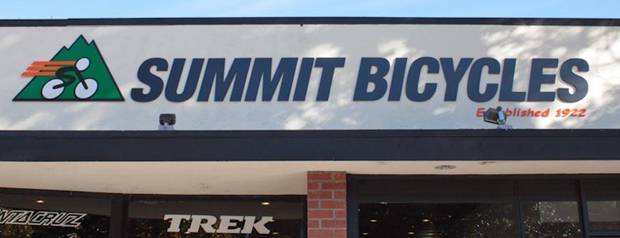 Summit Bicycles- Los gatos, Burlingame, San Jose, Santa Clara