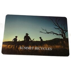 Summit Bicycles Online Gift Card
