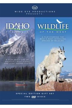 Wide Eye Productions Idaho The Movie / Wildlife Of The West 2 - Pack Gift Set