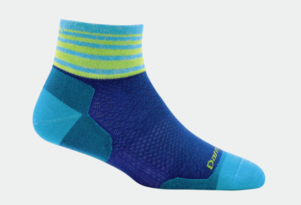Darn Tough Women's Stripe 1/4 Ultra-Light Sock