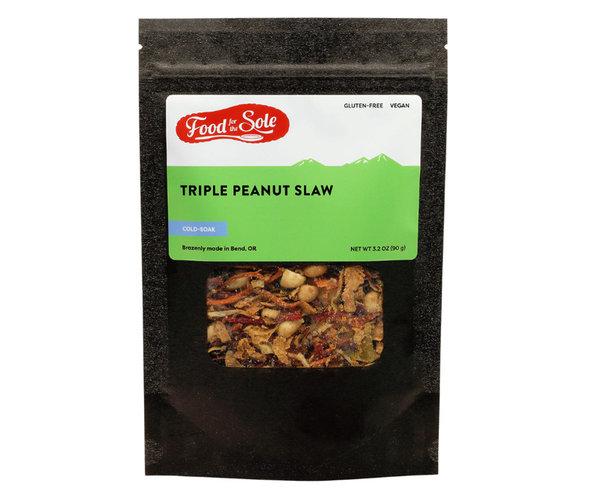 Food for the Sole Triple Peanut Slaw