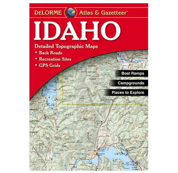Liberty Mountain Idaho Recreation Atlas