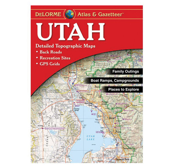 Misc Books and Media Utah Atlas and Gazetteer