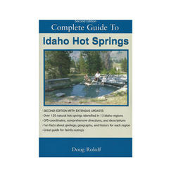 Misc Books and Media Idaho Hot Springs Guide Book 2nd Ed