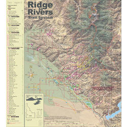 Misc Books and Media Ridge to Rivers Map