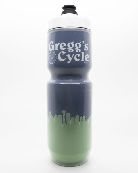 Gregg's Cycle 23oz Blue/Green Skyline Insulated Bottle