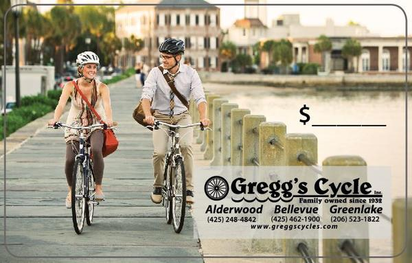 Gregg's Cycles Gift Card
