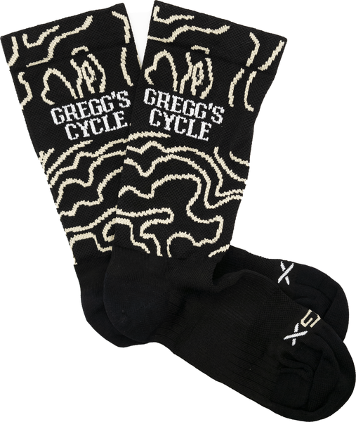 Gregg's Cycle Topography Socks