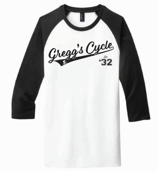 Gregg's Cycle Baseball T - Unisex