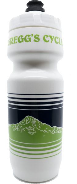Gregg's Cycle 24oz Blue/Green Skyline Lines Bottle