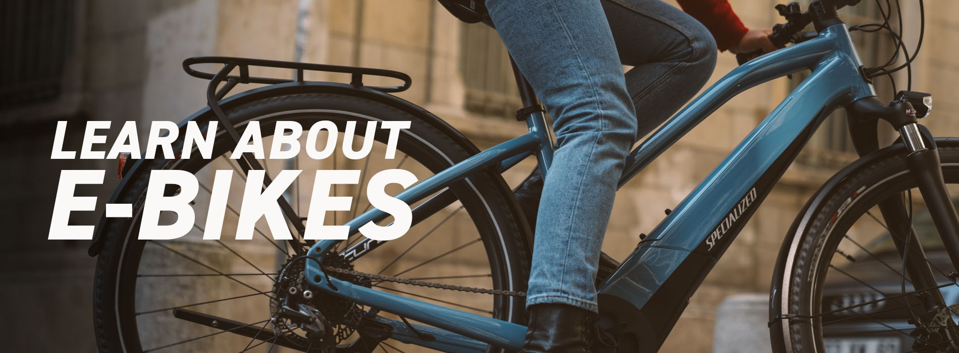 E-bikes; break down barriers!