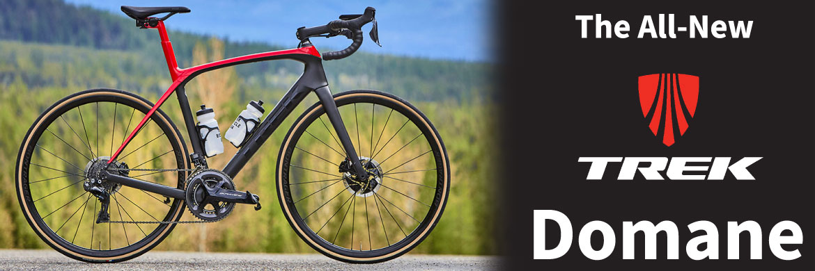 Check out the all new Trek Domane