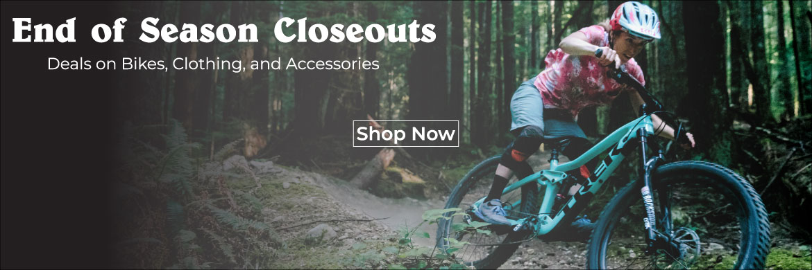 Gregg's Cycle closeouts - our best deals!
