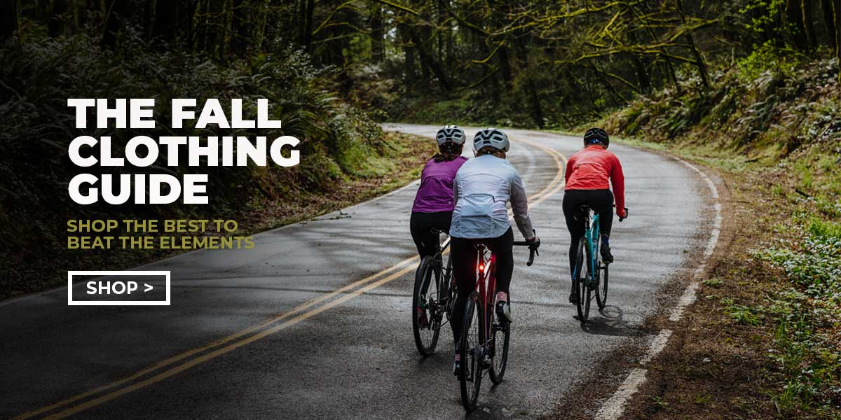 Gregg's Cycle official fall clothing guide.