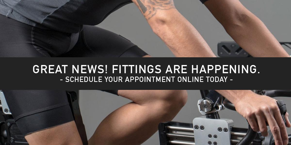 Bike Fitting is Live Again!