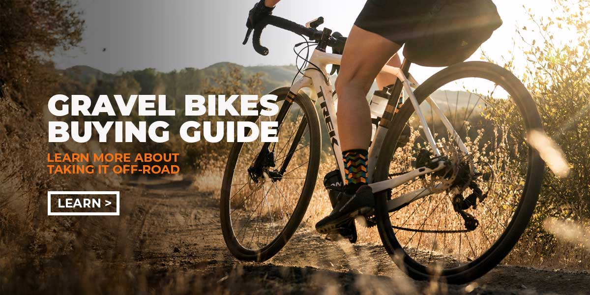 Gravel Bikes: Choose the path less pedaled!