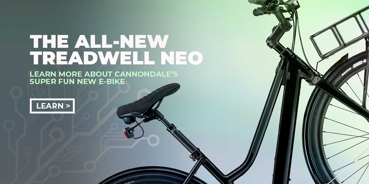 The all-new Cannondale Treadwell NEO