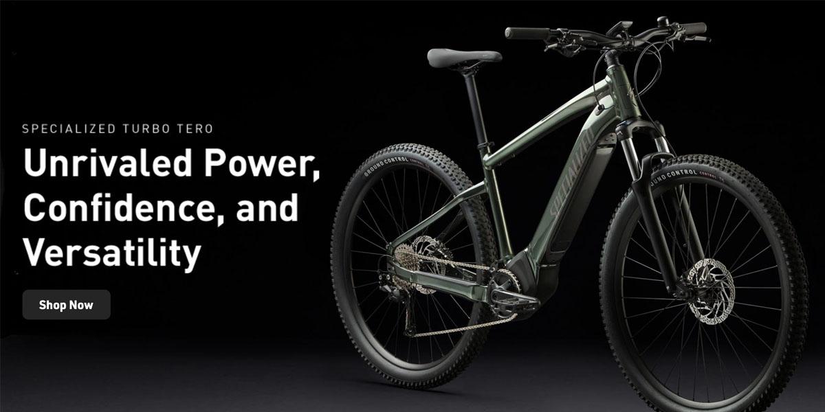 New Specialized Tero E-Mountain Bike