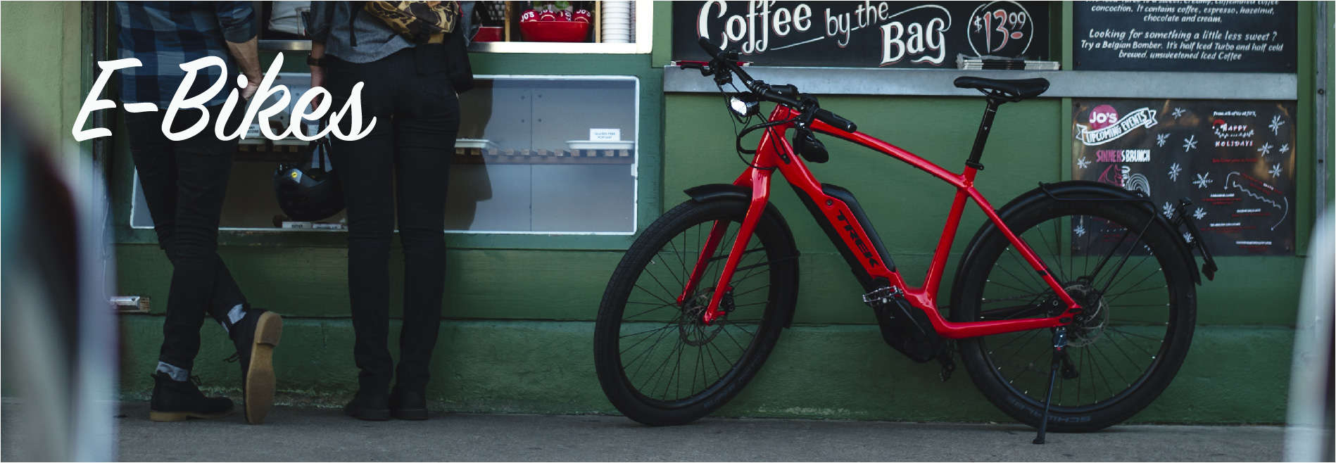 Have more fun on an Electric Bike from Gregg's Cycle.