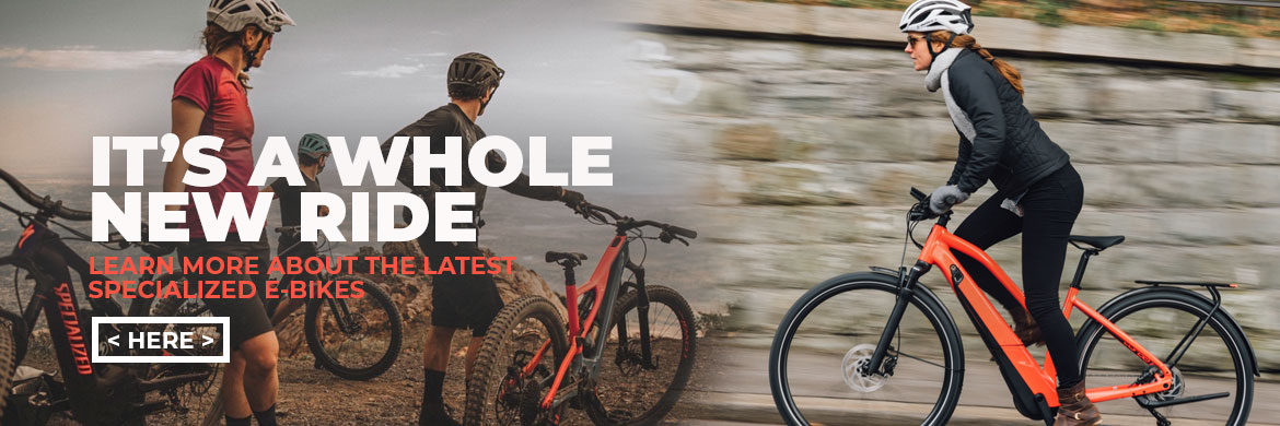 Learn More About Specialized E-Bikes