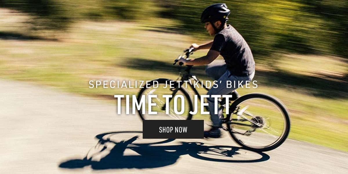 Time To Jett! New Specialized Kid's Bikes