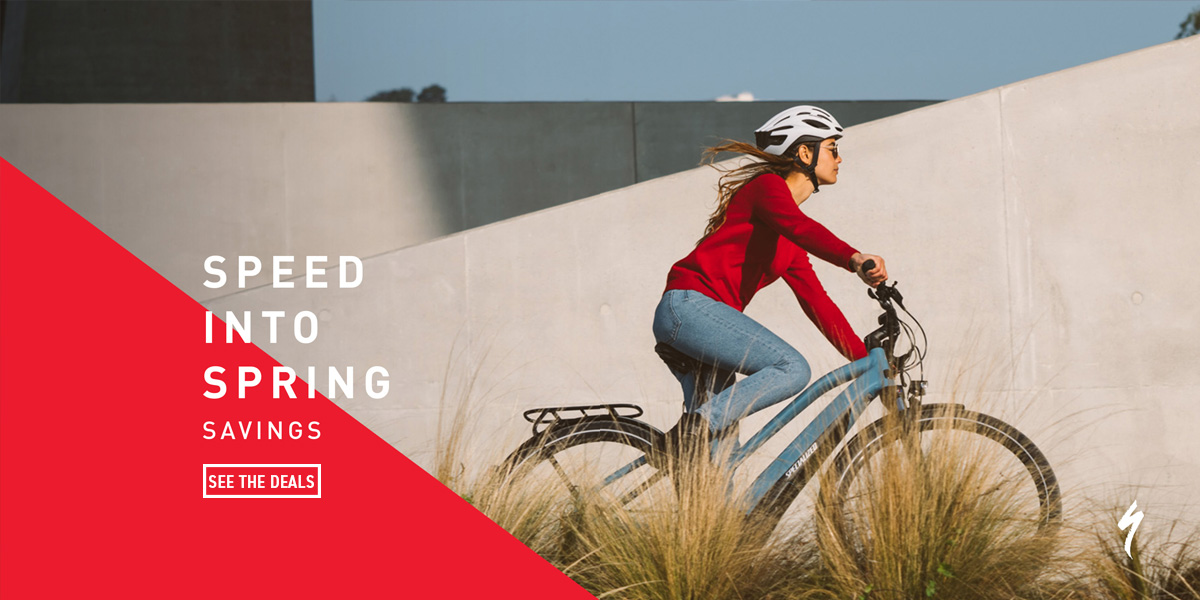 Specialized // Speed Into Spring Sale