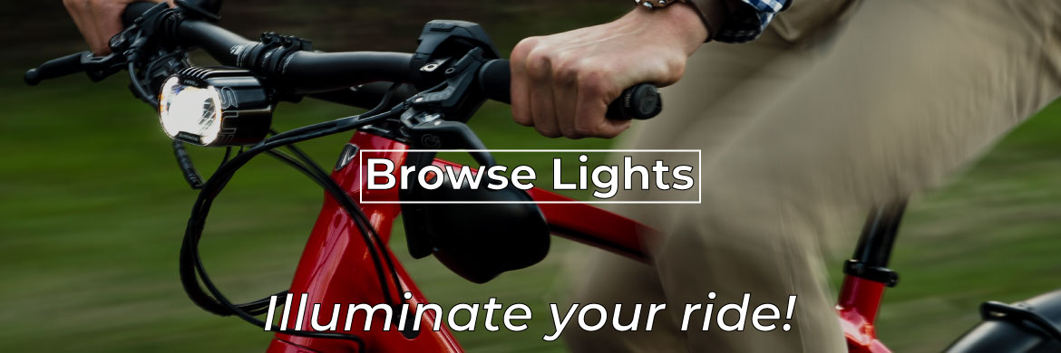 Bicycle Lights: Stay visible and illuminate your ride.