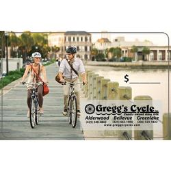 Gregg's Cycle Gift Card