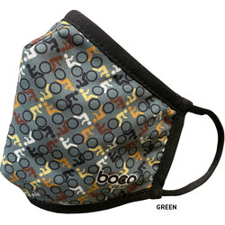 Boco Gear Bicycle Themed Face Mask