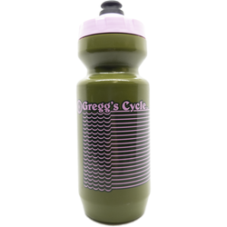 Gregg's Cycle 22oz Moss/Pink Waves Purist Bottle