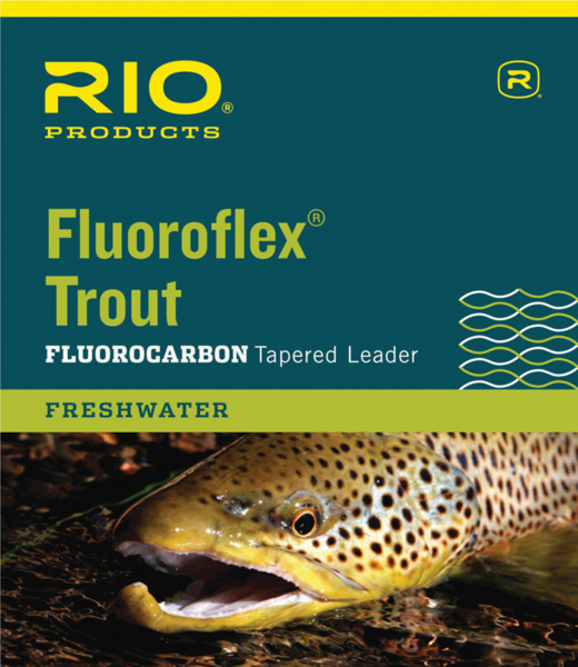 Rio FluoroFlex Trout Fluorocarbon Tapered Leader