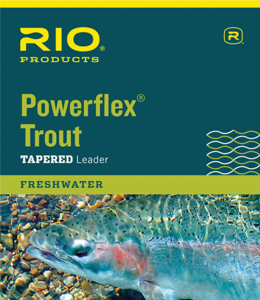 Rio PowerFlex Trout Tapered Freshwater Leader
