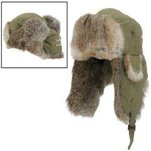 Yukon Rabbit Fur Hat