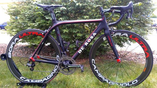 2012 De Rosa Merak with Super Record 11 by Green Mountain Sports