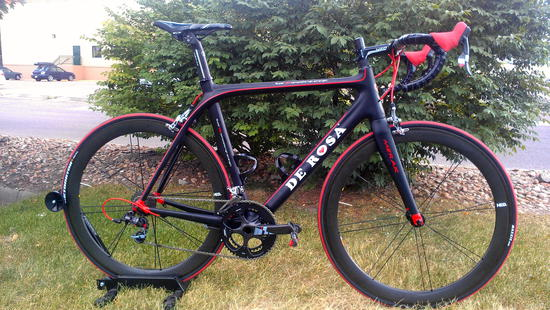 2012 De Rosa Merak SRAM RED built by Green Mountain Sports