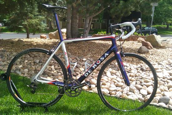 De Rosa King3 RS Campagnolo Super Record 11 Green Mounatin Sports