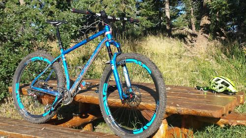 Niner ROS9 ENVE M60 Fourty DH Bar Green Mountain Sports