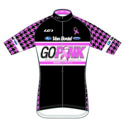 Towpath Bike GO PINK JERSEY 2015
