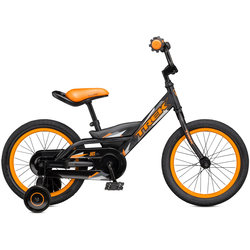 Towpath Bike USED Jet 16 Blk/Orange w/training wheels