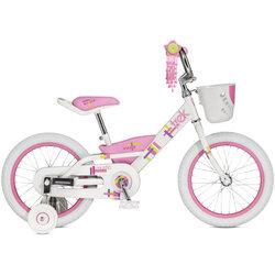 Towpath Bike USED Mystic 16 (WHITE/PINK)