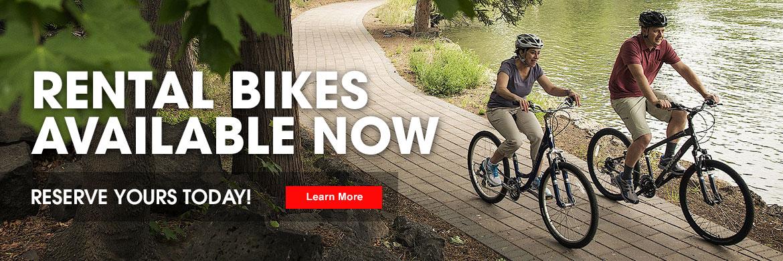 Rental Bikes at Wamsley Cycles