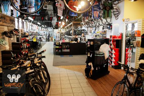Wamsley Cycles - Bike Showroom Floor