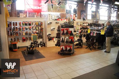 Wamsley Cycles - Helmets, Shoes, Accessories