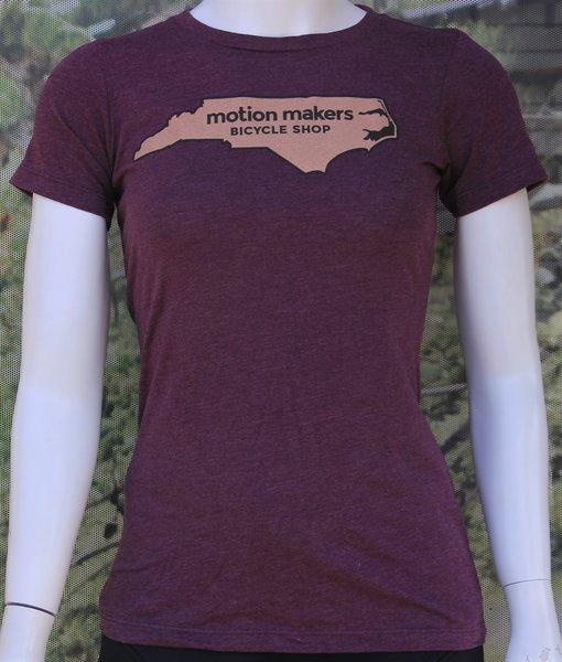 Motion Makers Bicycle Shop North Carolina State T-Shirt Women