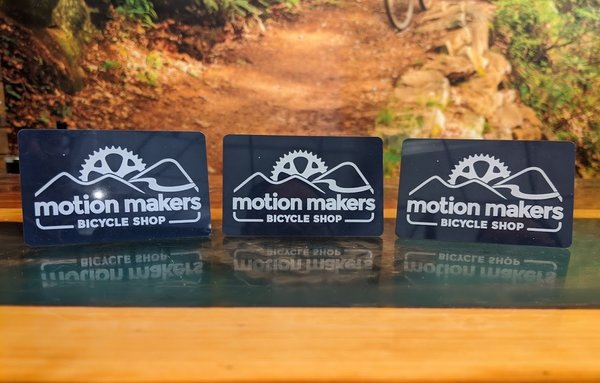 Motion Makers Bicycle Shop Gift Card
