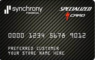 Bike Financing Available Through Synchrony