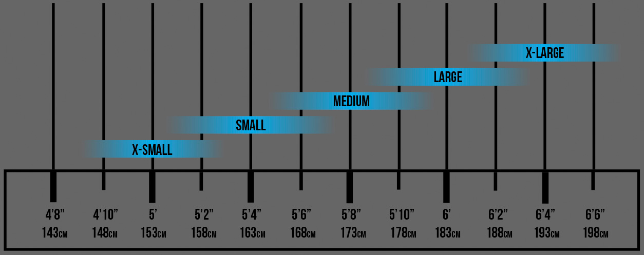 Transition Sizing Chart