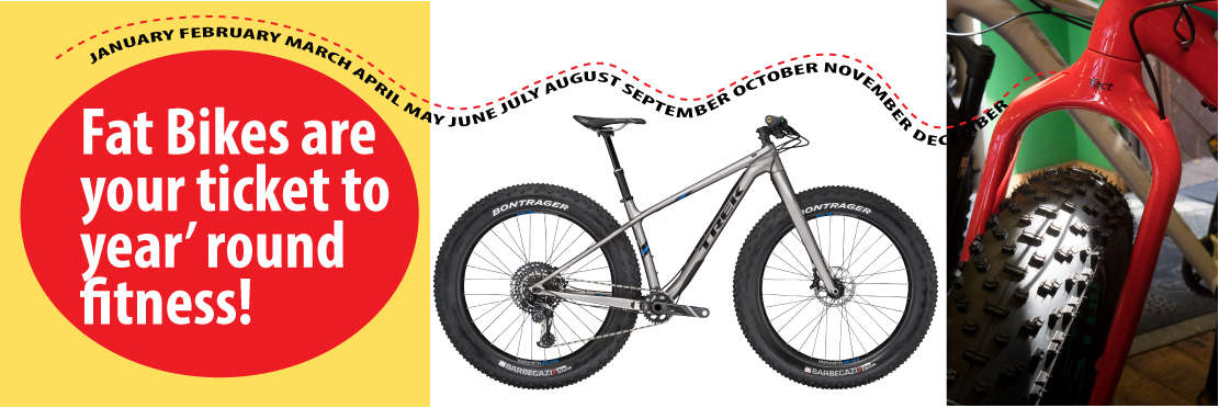 fatbikes for all year fitness